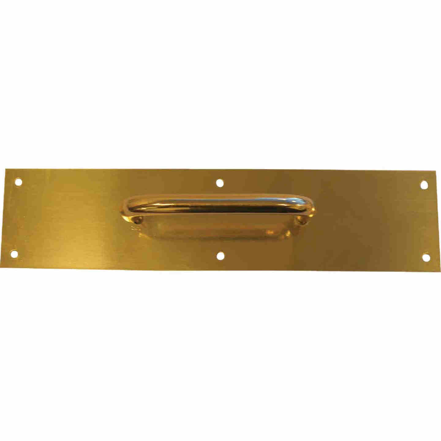 Tell 5.5 In. Brass Pull Plate Image 1