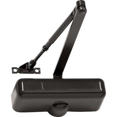 Tell Residential 2000 Series Brown Hold Open Door Closer