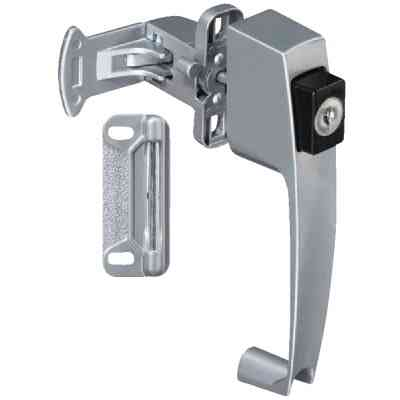 National Keyed Push Button Latch