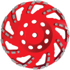 Diablo 7 In. Masonry Diamond Cup Wheel Image 1
