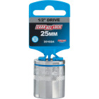 Channellock 1/2 In. Drive 25 mm 12-Point Shallow Metric Socket Image 2