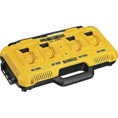 DeWalt 12 Volt/20 Volt MAX and Flexvolt 20 Volt/60 Volt MAX Lithium-Ion Simultaneous Multiport Battery Charger