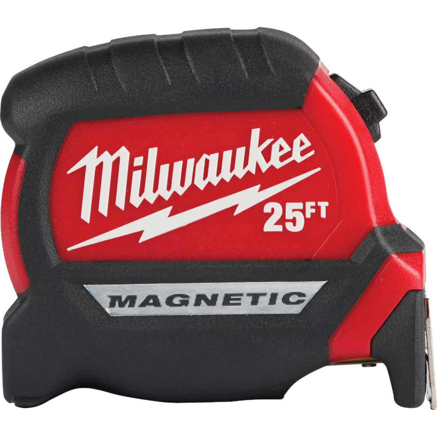 Milwaukee 25 Ft. Compact Wide Blade Magnetic Tape Measure Image 1