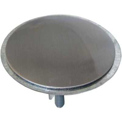 Lasco 2 In. Satin Nickel Faucet Hole Cover