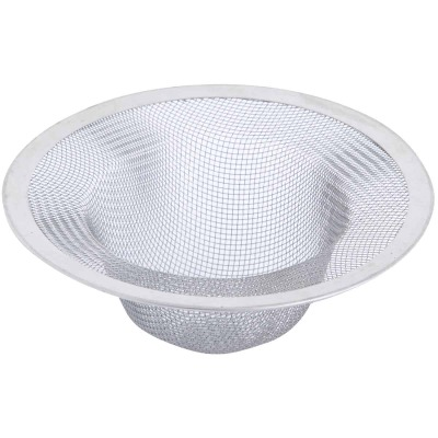 Danco 4-1/2 In. Stainless Steel Mesh Kitchen Sink Strainer Cup