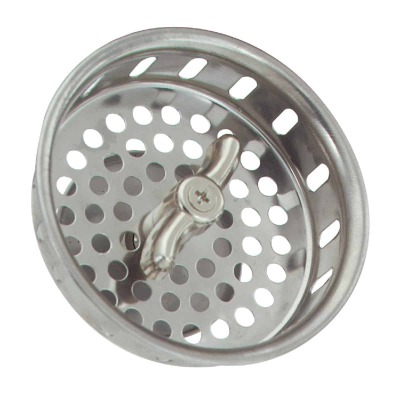 Do it 3-1/2 In. Stainless Steel Twist/Lock Basket Strainer Stopper