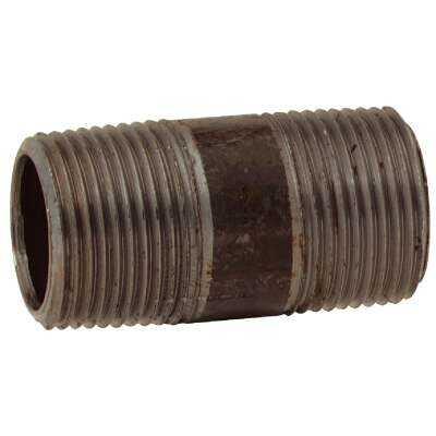 Anvil 3/4 In. x 2 In. Schedule 40 Steel Black Iron Nipple