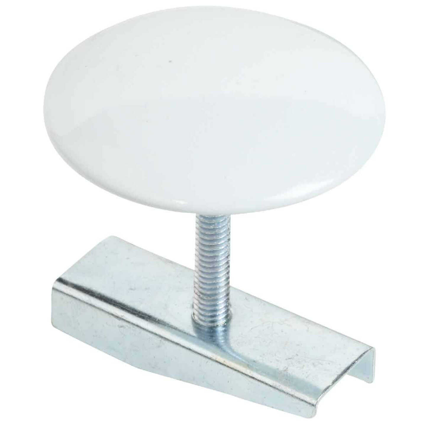 Do it 1-3/4 In. White Metal Faucet Hole Cover Image 1
