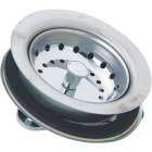 Do it 3-1/2 In. Stainless Steel Basket Strainer Assembly Image 1