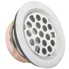 Do it 2 In. Chrome Flat Top Strainer Assembly  Image 1