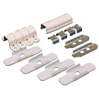 Wiremold Ivory Wire Protector Accessory Kit Image 1