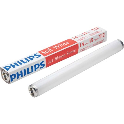 Philips ALTO 14W 15 In. Soft White T12 Medium Bi-Pin Fluorescent Tube Light Bulb