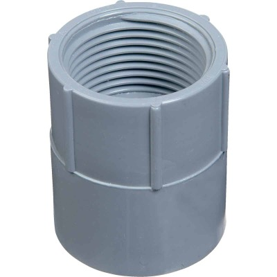 Carlon 2 In. Female Threaded & Socket PVC Conduit Female Adapter