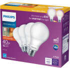 Philips Warm Glow 40W Equivalent Soft White A19 Medium Dimmable LED Light Bulb (4-Pack) Image 2