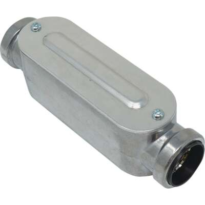 Southwire SimPush 3/4 In. EMT Push-To-Install Type-C Conduit Body