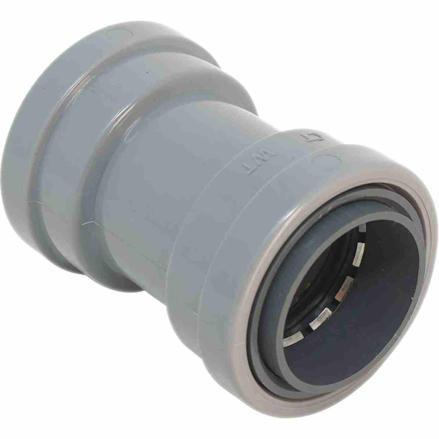 Southwire SimPush 1/2 In. PVC-CIC Push-To-Install Conduit Coupling (5-Pack) Image 1
