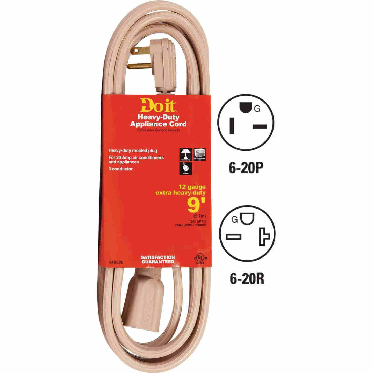 Do it 9 Ft. 12/3 20A Appliance & Air Conditioner Cord Image 1
