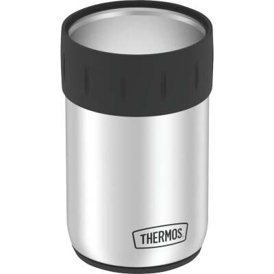 Thermos 12 Oz. Silver Stainless Steel Insulated Drink Holder
