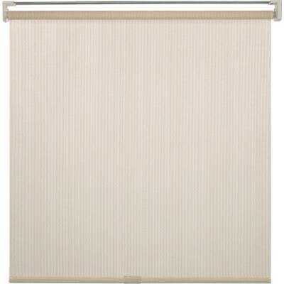 Home Impressions 30 In. x 72 In. Ivory Fabric Indoor/Outdoor Cordless Roller Shade