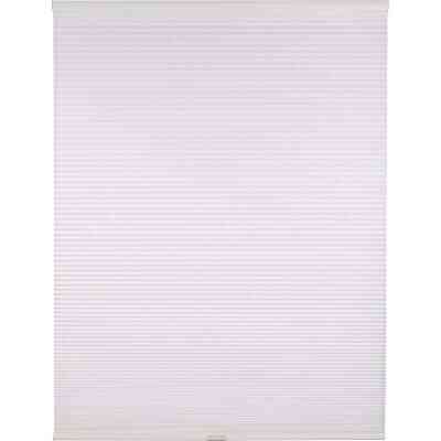 Home Impressions 1 In. Light Filtering Cellular White 47 In. x 72 In. Cordless Shade