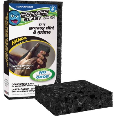 Grease Beast Hand Scrub Pad (2 Pack)