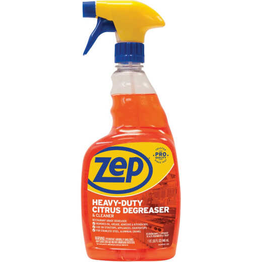 Zep Commercial 32 Oz. Citrus Liquid Cleaner & Degreaser