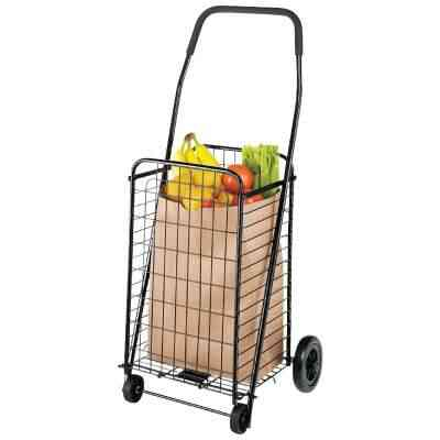 Whitmor Rolling Utility Shopping Cart