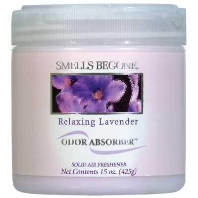 Smells Begone 15 Oz. Relaxing Lavender Solid Air Freshener