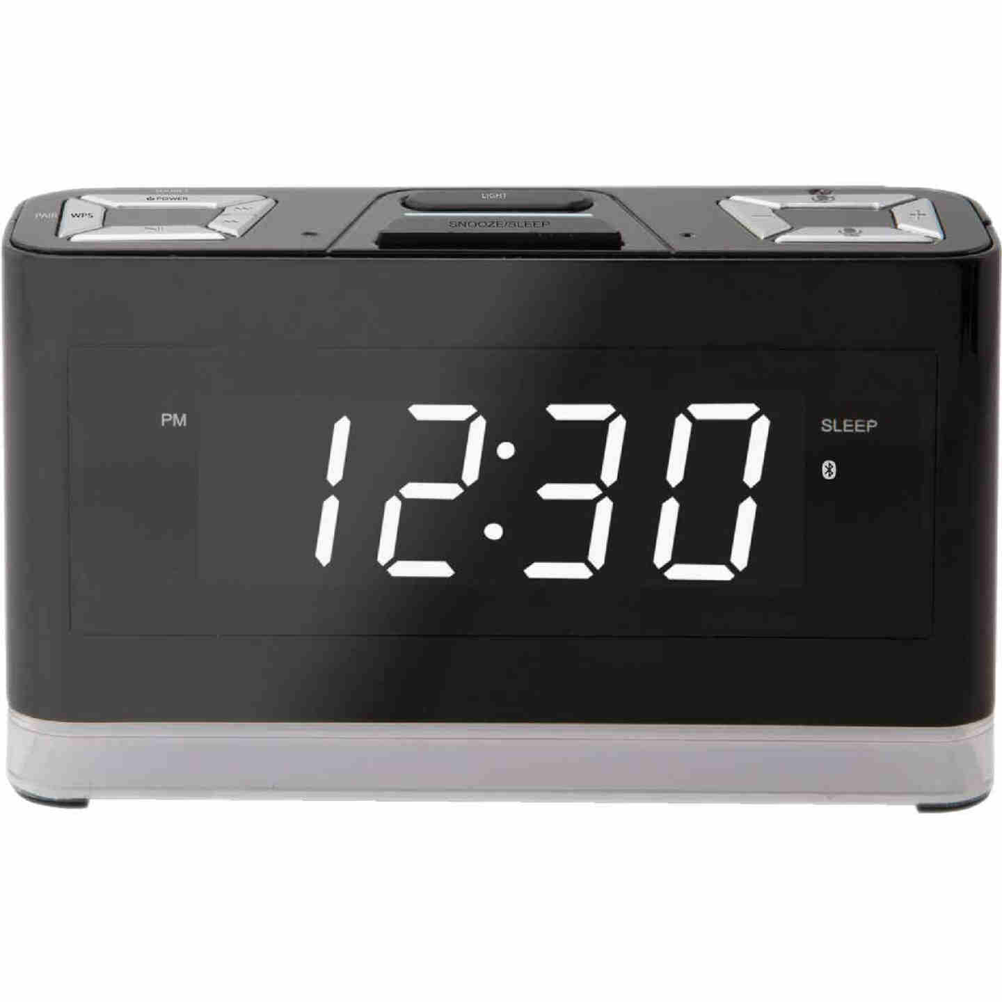 iLive Alexa Bluetooth Wireless Voice Activated Alarm Clock Image 1