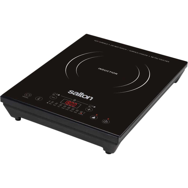Salton Portable Induction Electric Cooktop Image 1