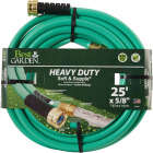 Best Garden 5/8 In. Dia. x 25 Ft. L. Heavy-Duty Soft & Supple Garden Hose Image 1