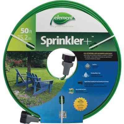 Element 5/8 In. Dia. x 50 Ft. L. Drinking Water Safe Sprinkler Hose