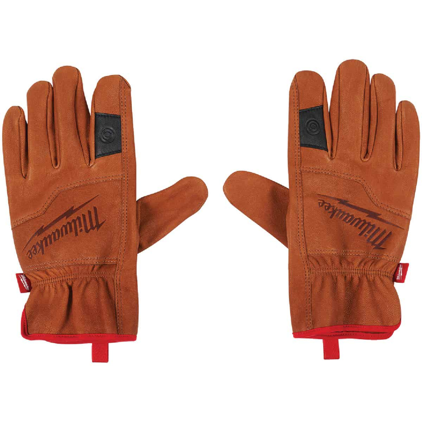 Milwaukee Men's Large Goatskin Leather Work Gloves Image 2