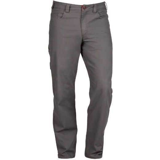 Milwaukee Flex Gray 36 x 34 Heavy-Duty Work Pants