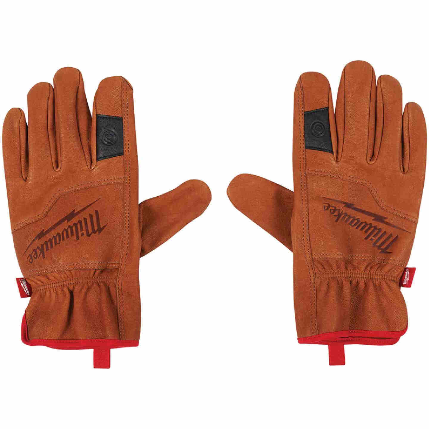 Milwaukee Men's XL Goatskin Leather Work Gloves Image 2
