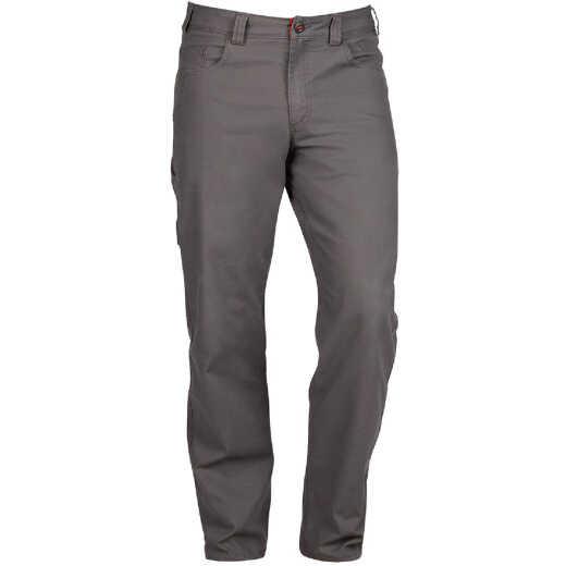 Milwaukee Flex Gray 38 x 32 Heavy-Duty Work Pants