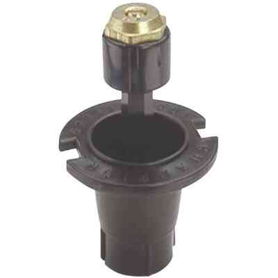 Champion 1.25 In. Quarter Circle Deluxe Plastic Pop-Up Sprinkler with Brass Nozzle