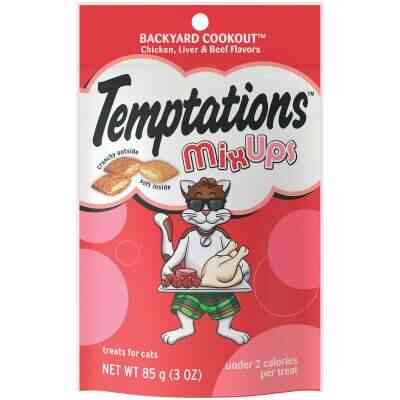 Temptations Mix Ups Backyard Cookout 3 Oz. Cat Treats