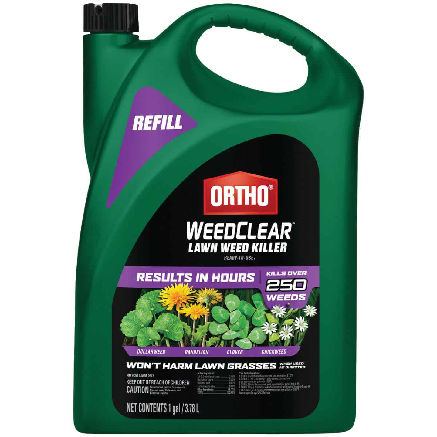 Ortho WeedClear 1 Gal. Ready To Use Refill Southern Lawn Weed Killer Image 1