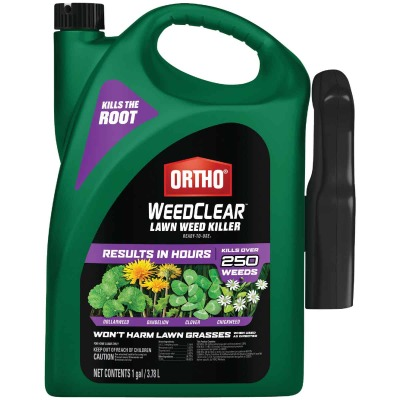 Ortho WeedClear 1 Gal. Ready To Use Trigger Spray Southern Lawn Weed Killer