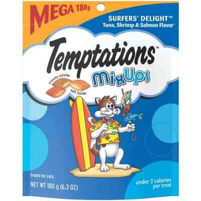 Temptations Mix Ups Surfers' Delight 6.3 Oz. Cat Treats