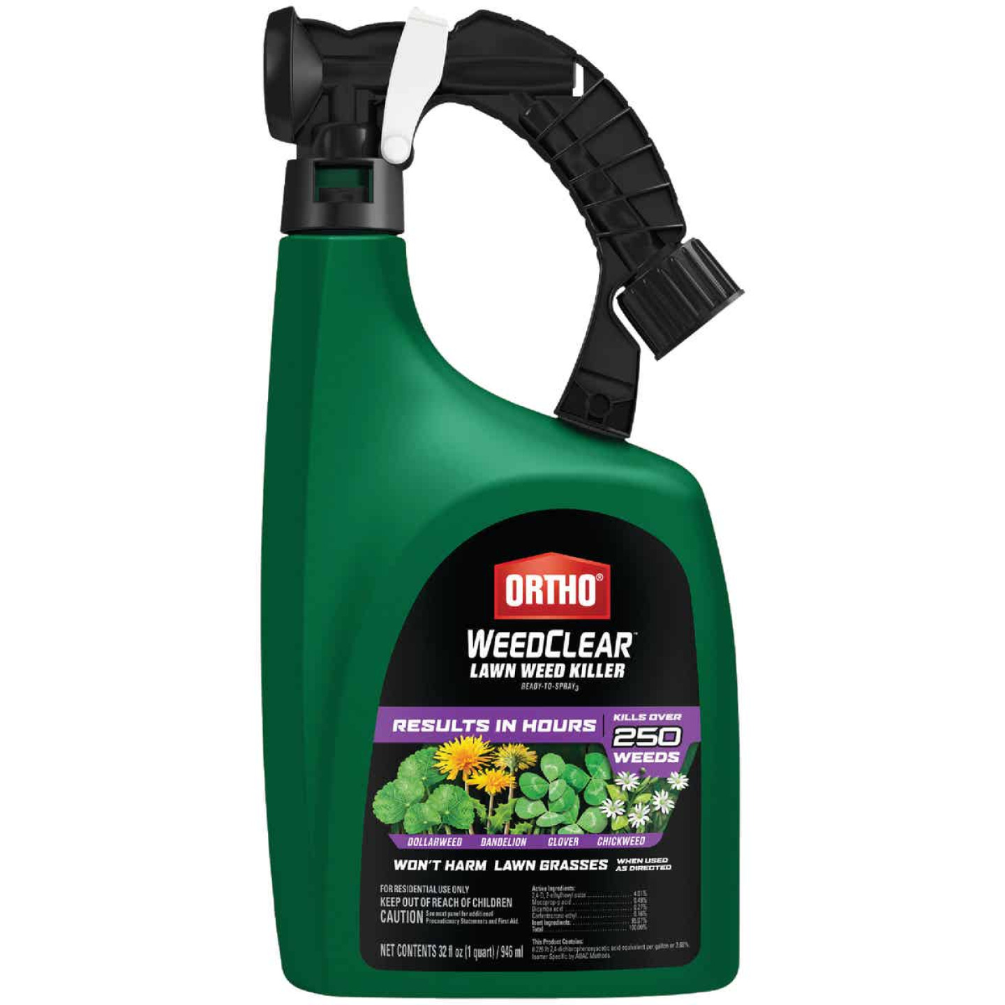 Ortho WeedClear 32 Oz. Ready To Spray Hose End Southern Lawn Weed Killer Image 1