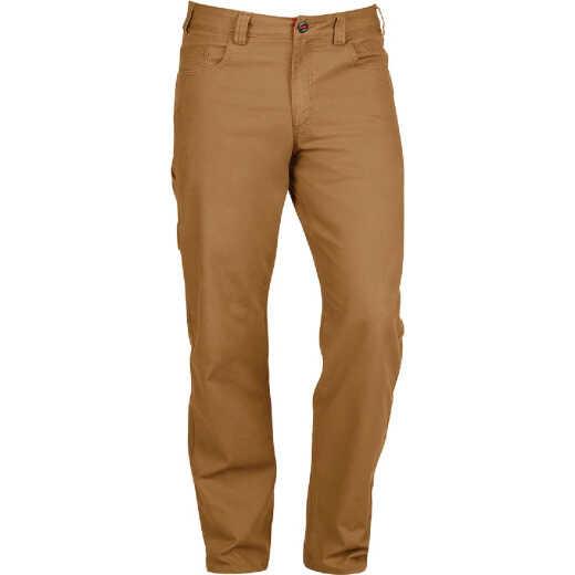Milwaukee Flex Khaki 40 x 32 Heavy-Duty Work Pants