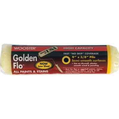 Wooster Golden Flo 9 In. x 3/8 In. Knit Fabric Roller Cover