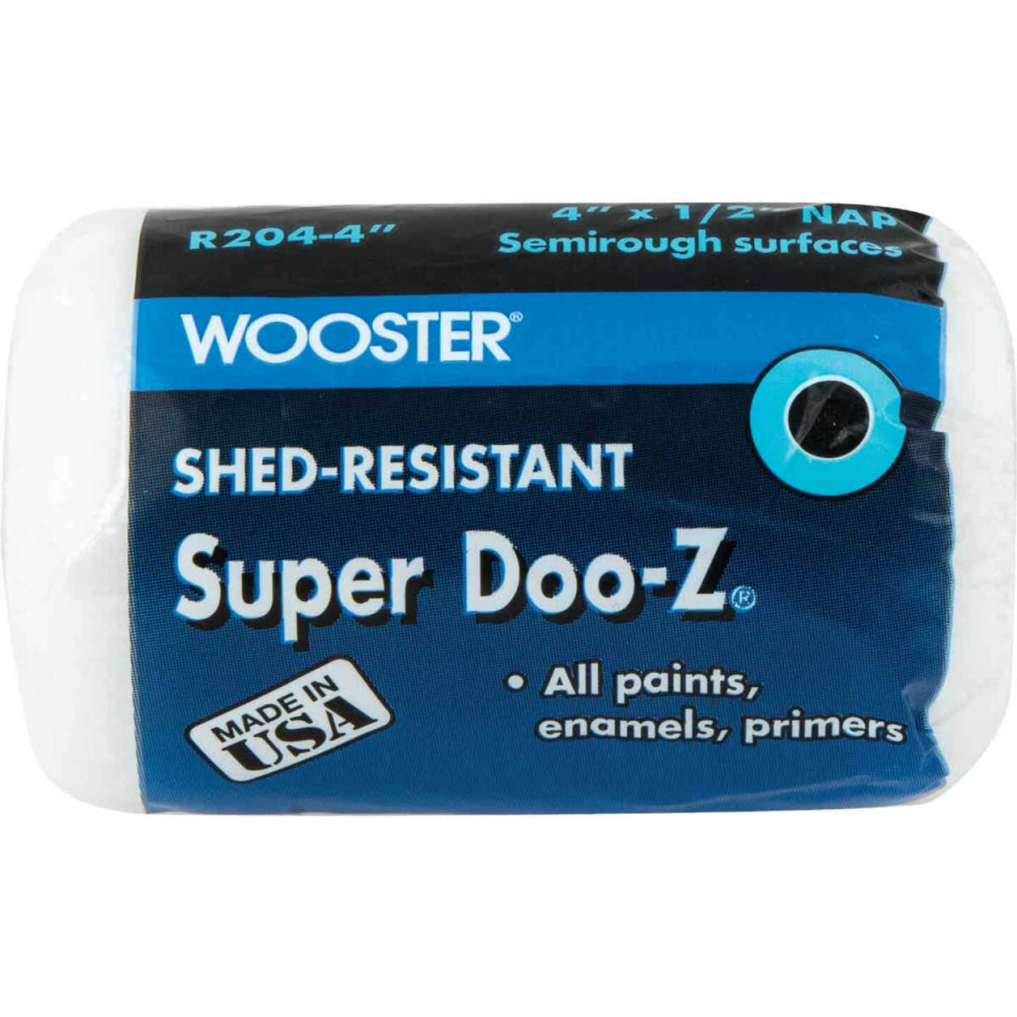 Wooster Super Doo-Z 4 In. x 1/2 In. Woven Fabric Roller Cover Image 1