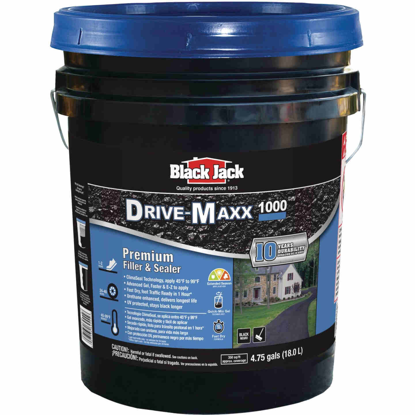 Black Jack Drive-Maxx 1000 5 Gal. 10 Yr. Fast Dry Filler and Sealer Image 1