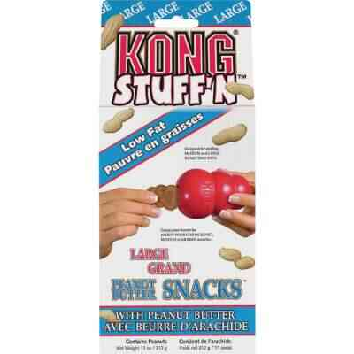 Kong Stuff'N Medium & Large Dog Peanut Butter Flavor Crunchy Dog Treat, 11 Oz.