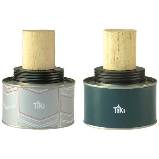 Tiki 3.5 In. Metal Tin Table Torch