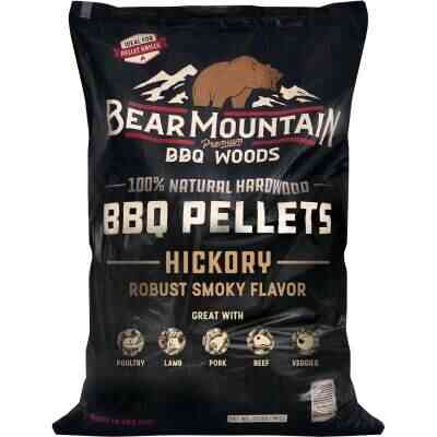 Bear Mountain BBQ Premium Woods 20 Lb. Hickory Wood Pellet