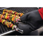 GrillPro 16 In. Black Heavy-Duty Silicone Palm Grill Mitt Image 2